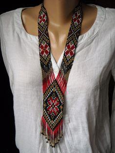 Bead Embroidery Jewelry, Beaded Jewelry Patterns, Seed Bead Patterns, Beading Patterns, Beaded Crafts, Jewelry Crafts, Beadwork Designs, Peyote Beading, Beading Tutorials