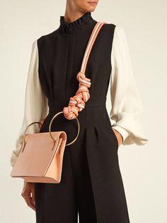 Roksanda Dia leather shoulder bag #leathershoulderbag