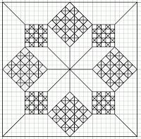 Blackwork&Free-hand Embroidery: Small Motif/Fill Pattern