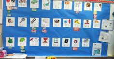 One of the most important tools I use in my classroom is the Word Wall. Nearly every elementary classroom today has a word wall. Sight Word Games, Sight Words, Word Wall Kindergarten, Literacy Stations, Word Work, First Grade, Preschool, Language, Classroom