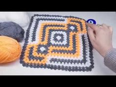 Crochet Stitches, Crochet Patterns, Make It Yourself, Blanket, Gallery, Learn Crochet, Craftsman Fabric, Tejidos, Crocheting