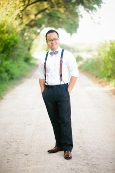 quite the dapper lad. You can't go wrong with suspenders  Photography by http://akilbennett.com