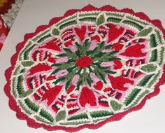 Ravelry: Project Gallery for Crochet Overlay Mandala No. 4 pattern by CAROcreated design