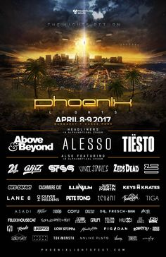 Tickets are now on sale for the Phoenix Lights 2017 on April 8-9th.  To purchase tickets and for the full lineup, visit: http://phoenixlightsfest.com/ #phoenixlightsfestival #cannabis #cannabiscommunity