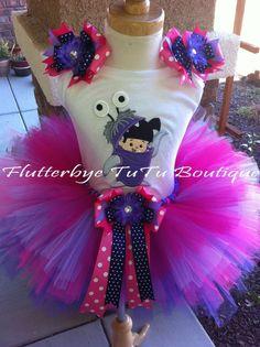 Monster's Inc. BOO Costume TuTu Set. $48.50, via Etsy.