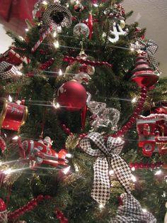Alabama Crimson Tide Christmas Tree | Christmas | Pinterest ...