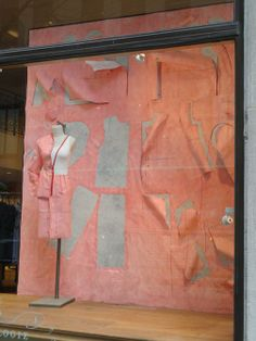 i heart interiors: Anthropologie Window Display - All About Sewing