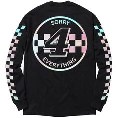 492f599fb Iridescent Sorry 4 Everything Long Sleeve Tee Long Sleeve Tees, Iridescent,  Long Sleeve T