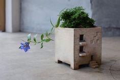 Kleine Blumentopf Gebäude verzücken.  Ich blicke auf die Fotos und habe direkt Assoziationen in Richtung Asien am Start. Als ich in Taiw...