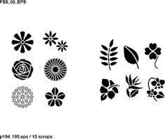 flower vector - Tìm với Google