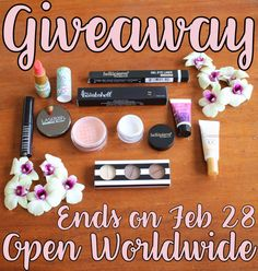 Fourth Blogoversary Beauty Giveaway: Open Worldwide