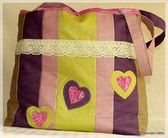 Großmutter Käthes Handarbeitsblog: Tasche - Shopper nähen, Einkaufstasche, 12monate12taschen, nähen, Plastik vermeiden, Stoff, Alternative zu Plastik, Tasche, Stofftasche, Beutel