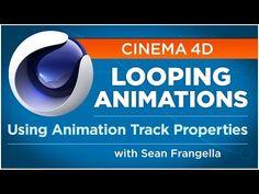 Creating Looping Animations in Cinema 4D using Animation Track Properties - Sean Frangella - YouTube
