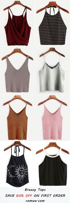 Fashion & Cozy Vest Tops 2017 from romwe.com