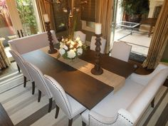 jpg - eclectic - dining chairs and benches - los angeles - Sofas Tables and Eclectic Dining Chairs, Dining Sofa, Dining Tables, Dining Rooms, Kitchen Dining, 10 Person Dining Table, Dining Room Design, Room Chairs, So Little Time