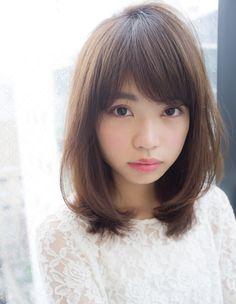大人かわいいロブディ(HR-197)   ヘアカタログ・髪型・ヘアスタイル AFLOAT(アフロート)表参道・銀座・名古屋の美容室・美容院