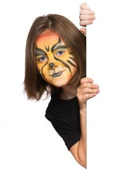 Homeade face paint