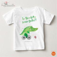 Magliette manica corta - COCCODRILLO T-shirt - un prodotto unico di Susy-Zanella…