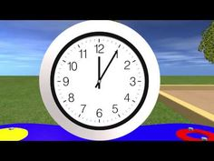 Telling Time - Skip to :45 seconds (best video I found on introducing time)