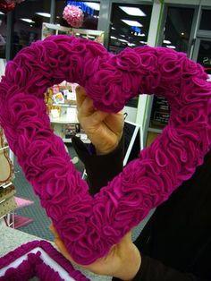 Artesanato e Cia : Guirlanda de Coração