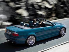 E46 BMW M3 Cabrio in Laguna Seca Blue