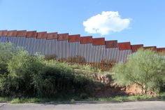 The 18' high fence between Nogales, Sonora and Nogales, AZ #immigration, #Nogales