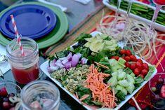 Vegan Cobb Salad with Honey Poppy Seed Vinaigrette #15MinuteSuppers