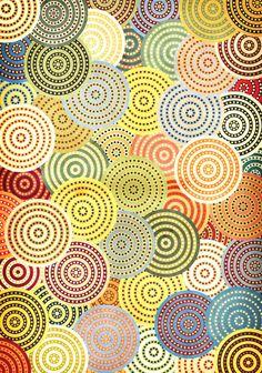 Pattern Design - Circular pattern by Danny Ivan - CoDesign Magazine Motifs Textiles, Textile Patterns, Geometric Patterns, Pretty Patterns, Color Patterns, Painting Patterns, Pattern Art, Pattern Design, Organic Forms