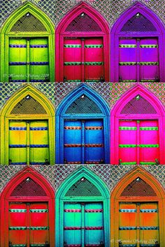 Mosque Doors - by Hamesha Safrang  http://www.flickr.com/photos/56173993@N00/3291496719/in/photolist-61RMir-7xGVmr