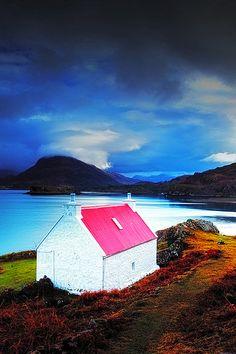 Loch Sheildaig,Torridon, Scottish Highlands