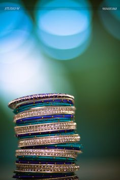 40 ideas south indian bridal bangles for 2019 Silk Thread Bangles, Thread Jewellery, Bridal Bangles, Bridal Jewelry, Bangle Set, Bangle Bracelets, Thread Bangles Design, Bollywood, India Jewelry