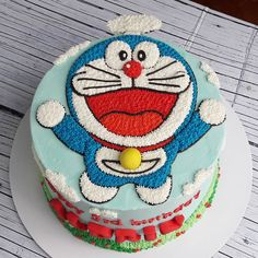 Special Cake For Special Girl Cartoon Birthday Cake, Make Birthday Cake, Birthday Cake Decorating, Photo Cake Images, Cake Pictures, Doraemon Cake, Cake Designs For Kids, Birthday Cake Delivery, Friends Cake