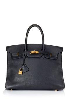 Black Togo Leather Birkin