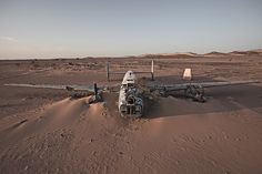 Ghostly Plane Wrecks Found in Remote, Exotic Locations | Liberator in West Sahara