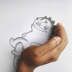 Artists Manik and Ratan Bring Pet Dragon To Life On Paper