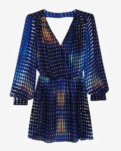 Parker Quilted Wrap Dress - would totally wear it if it was at least 5 inches longer!