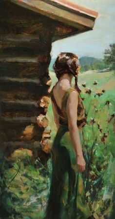 The arrival of hope - Johanna Harmon Illustrations, Illustration Art, Johann Wolfgang Von Goethe, Paintings I Love, Oil Paintings, Traditional Paintings, Art Themes, Portrait Art, Portraits