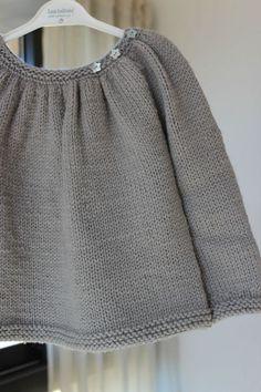 Jersey niña gris