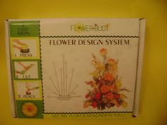 Flower Budi Centerpiece Floral Design System Arrangement Kit New #FlowerBudi