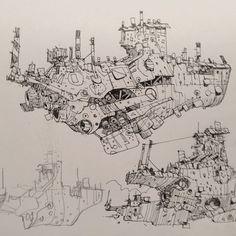 """Ian McQue, """"Foss Class Cruisers"""""""