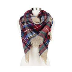 Women's Plaid Blanket Wrap Scarf Camel ($23) ❤ liked on Polyvore featuring accessories, scarves, camel, tartan shawl, tartan plaid shawl, tartan plaid scarves, plaid shawl and plaid wraps shawls