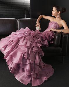 Vestido Rosa Clará