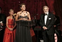 """#StanaKatic hosting L.A. Opera's """"The Two Foscari"""" opening night (2012)"""