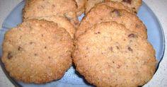 Fabulosa receta para Cookies de avena crocante. Galletas de coco y avena bien nutritivas y crocantes, son muy fáciles de hacer.