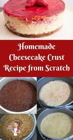 The good cheesecake crust is the best pat of a decadent cheesecake. This simple, easy and effortless shortcrust based homemade cheesecake crust recipe will be the best base you can make for your next cheesecake. Cheesecake Crust, Healthy Cheesecake, Best Cheesecake, Homemade Cheesecake, Easy Cheesecake Recipes, Easy Cake Recipes, Dessert Recipes, Cheese Cake Crust Recipe, Recipes