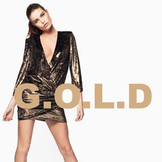 Le gold, tendance mode automne hiver 2017
