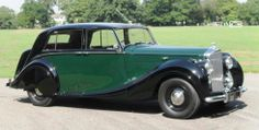 Bentley Mark VI Saloon by H.J. Mulliner 1950.
