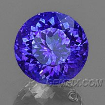Tanzanite, American Cut Gemstones from Gemfix