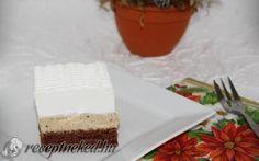 Gesztenyés szelet Feta, Cheesecake, Dairy, Cheesecakes, Cherry Cheesecake Shooters