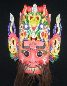 Wall Mask Decor Unique Chinese Drama Home Wall Décor Opera Mask 100% Wood Craft Folk Art Decorating Inspiration